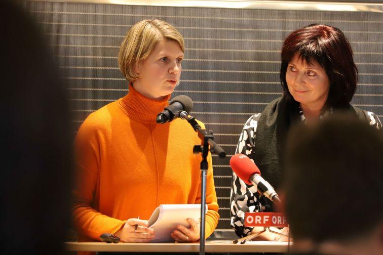 Dolmetscherin Julija Schellander-Obid, Tatjana Gregorčič, Amt für Wirtschaft, Landwirtschaft und Tourismus in Nova Gorica