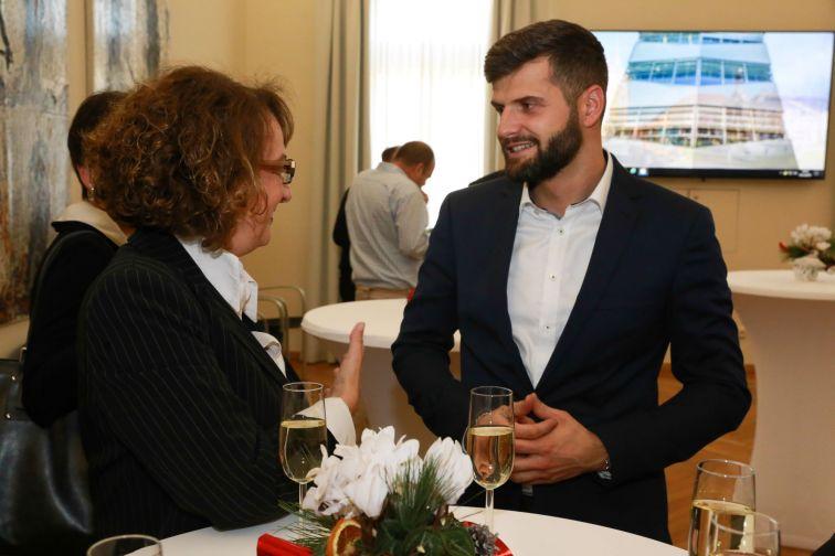 Treffen der Partnerstädte Klagenfurt und Nova Gorica