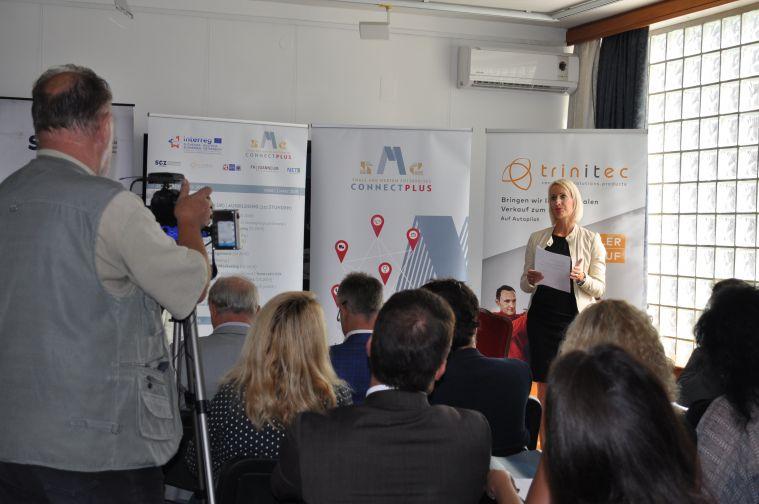 Connect SME PLUS, trinitec , Andrea Pirz, Würcher media