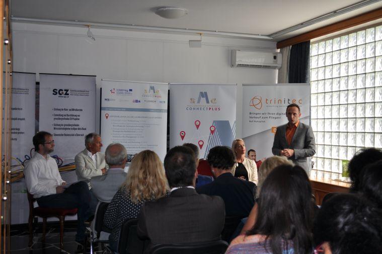 Connect SME PLUS, trinitec , Bernd Buchegger, partner